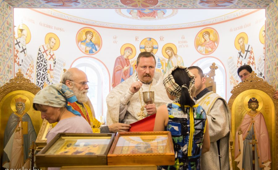 Протоиерей Николай Коржич возглавил Божественную литургию в 10-ю Неделю по Пятидесятнице