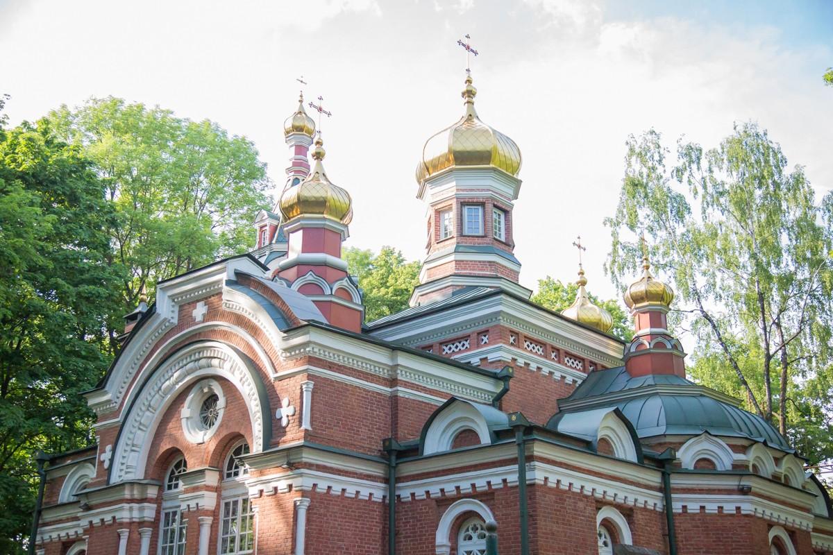 В Александро-Невском храме совершили панихиду по убиенному протоиерею Андрею Пашину