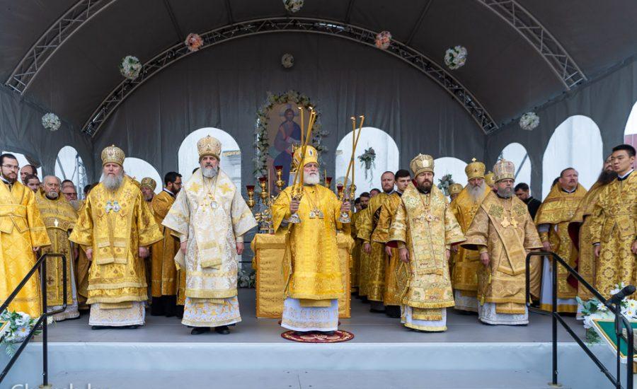 Протоиерей Николай Коржич принял участие в праздновании 30-летия Белорусского Экзархата