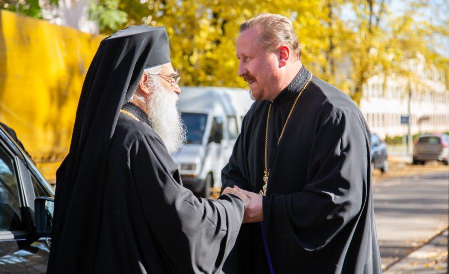 Митрополит Вострский Тимофей посетил храм святого Александра Невского в городе Минске (обновлено)