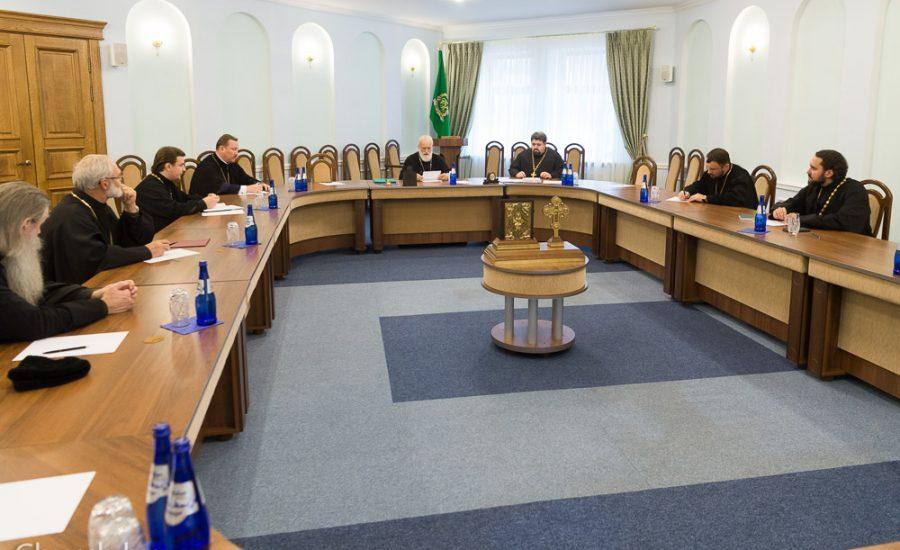 Настоятель Александро-Невского храма принял участие в заседании Епархиального совета Минской епархии